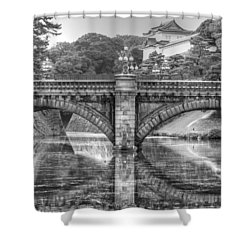 Kings Bridge Tokyo Shower Curtain