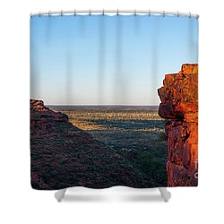 Kings Canyon Shower Curtain