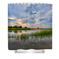 Kings Park Bluffs Shower Curtain