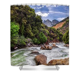 Kings River Shower Curtain