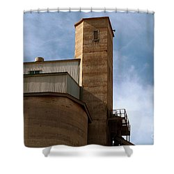Shower Curtain featuring the photograph Kingscote Castle by Stephen Mitchell