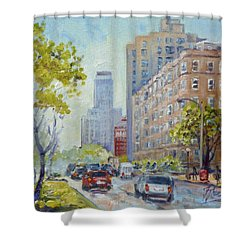 Kingshighway Blvd - Saint Louis Shower Curtain