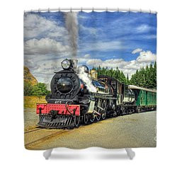 Kingston Flyer Shower Curtain