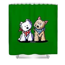 Kiniart Butch And Sundance Shower Curtain