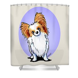 Kiniart Papillon Shower Curtain