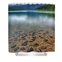 Kintla Lake Shower Curtain