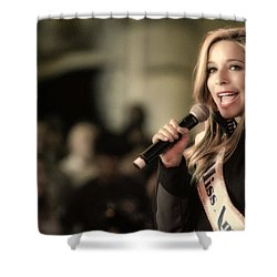 Kira Kazantsev Shower Curtain by John Swartz