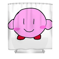 Kirby Shower Curtain