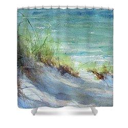 Kirk County Morning Shower Curtain by Sandra Strohschein