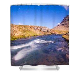 Kirkjufell Iceland Shower Curtain by Mariusz Czajkowski