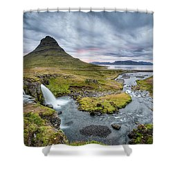 Kirkjufellsfoss 1 Shower Curtain