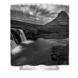 Kirkufellsfoss  Shower Curtain