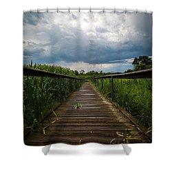 Kishwaukentoe Nature Conservancy Shower Curtain