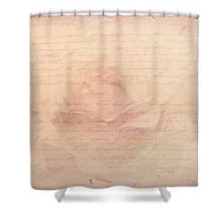 Kiss From A Rose Shower Curtain by Wallaroo Images