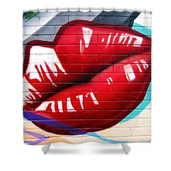 Kiss Me Now ... Shower Curtain