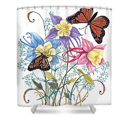 Kiss The Sun Shower Curtain by Stanza Widen
