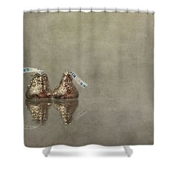 Kisses Shower Curtain by Evelina Kremsdorf