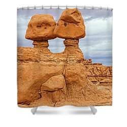 Kissing Rock Shower Curtain