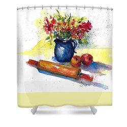Kitchen Bouquet June 2018 Shower Curtain