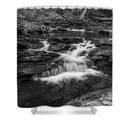 Shower Curtain featuring the photograph Kitchen Creek - 8902 by G L Sarti