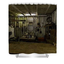 Kitchen House Shower Curtain by Ken Frischkorn