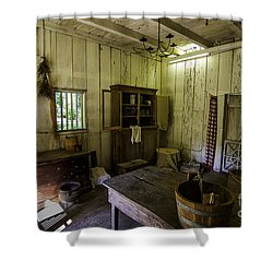 Kitchen House Three Shower Curtain by Ken Frischkorn