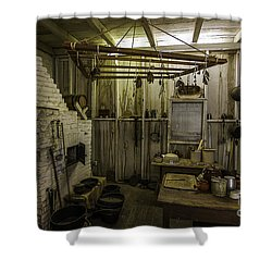 Shower Curtain featuring the photograph Kitchen House Two by Ken Frischkorn