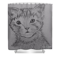 Kitten Shower Curtain