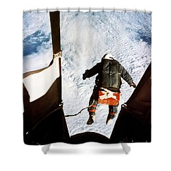 Kittinger Shower Curtain by SPL and Photo Researchers