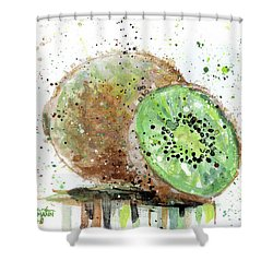 Kiwi 2 Shower Curtain