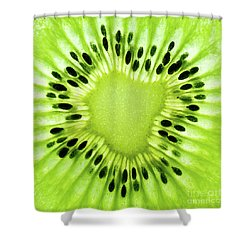 Kiwism Shower Curtain
