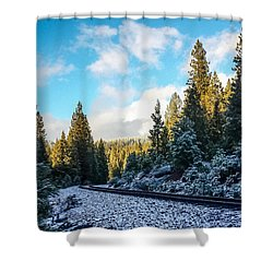 Kkkold 17 Degrees Shower Curtain
