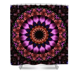 Klassy Kaleidoscope Shower Curtain by Lyle Hatch