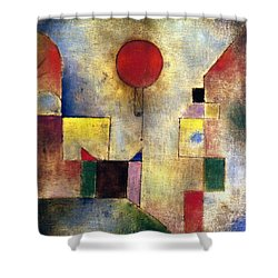 Klee: Red Balloon, 1922 Shower Curtain by Granger