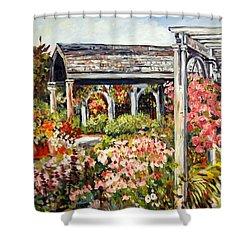 Klehm Arboretum I Shower Curtain by Alexandra Maria Ethlyn Cheshire