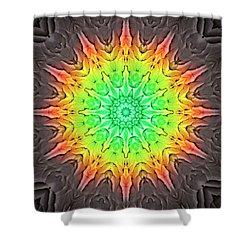 Klidanature Sun  Shower Curtain