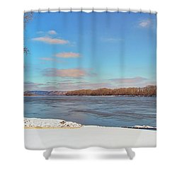 Klondike Park Boat Ramp Shower Curtain