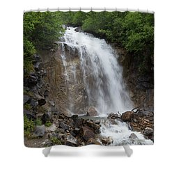 Klondike Waterfall Shower Curtain