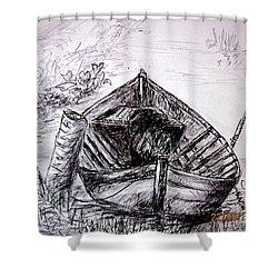 Klotok  Shower Curtain