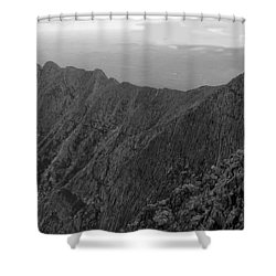 Knife Edge Shower Curtain