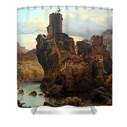 Knights Castle Shower Curtain