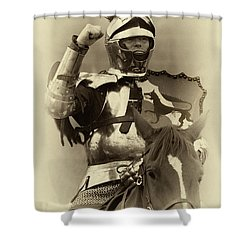 Shower Curtain featuring the photograph Knights Of Old 16 by Bob Christopher