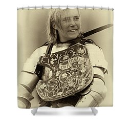 Shower Curtain featuring the photograph Knights Of Old 17 by Bob Christopher