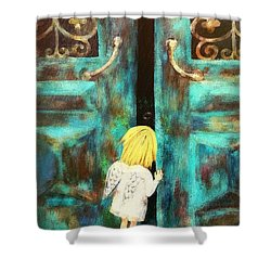 Knocking On Heaven's Door Shower Curtain