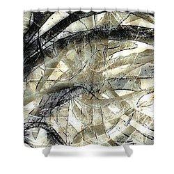 Knotty Shower Curtain by Vicki Ferrari