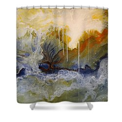Knowing Shower Curtain
