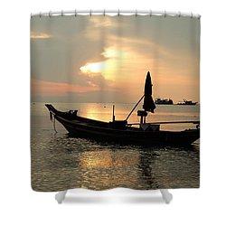 Ko Tao In Evening Shower Curtain