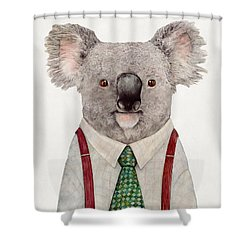 Koala Shower Curtain by Animal Crew