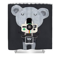 Koala Cam Shower Curtain