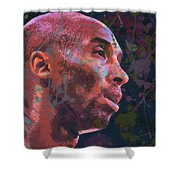 Shower Curtain featuring the painting Kobe by Richard Day